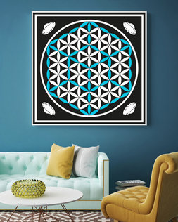 Flower of Life  100cm x 100cm
